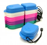 Retainer Box -  with articulated cover - Assorted colors